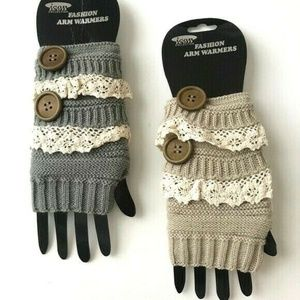 2 Pack Fashion Knit Arm Warmer